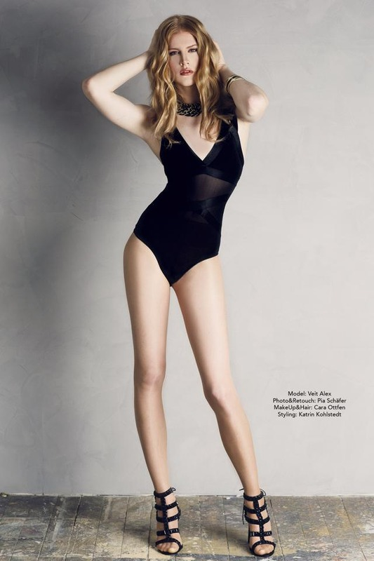 Crossdress Fashion Model