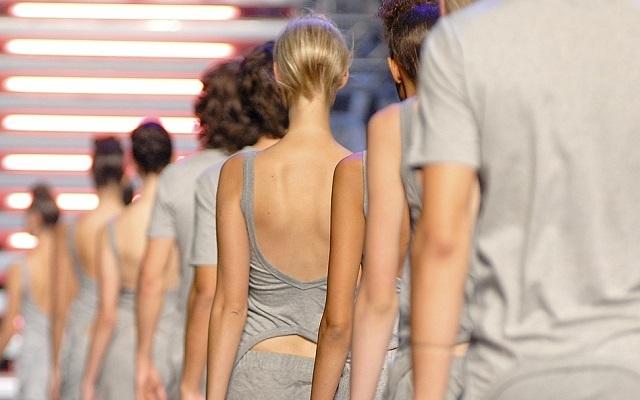 Casting für eine Fashion Show