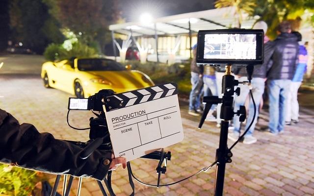 Casting für einen Unternehnehmensfilm